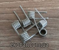 Коил Spaced Fused Clapton Кантал 0.4 (0.1/0.15/5/3)